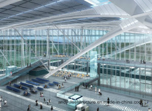 Large Span Roof Truss Roof System for Airport Terminal Building pictures & photos