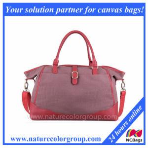 Women′s Canvas Travel Handbag Bag pictures & photos