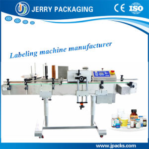 Automatic Plastic & Glass Round Bottle Sticker Label Labeling Equipment pictures & photos