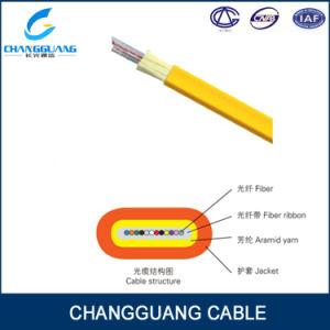 Gjdfjv Indoor Flat Fiber Ribbon 12 Core Multi Mode 62.5/125 Fiber Cable