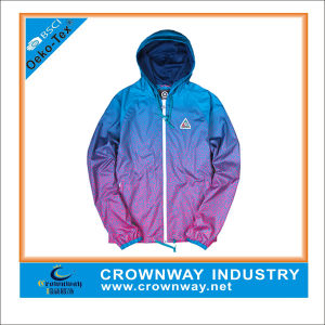 Wholesale Custom Windbreaker Jacket with Colorful Printing pictures & photos