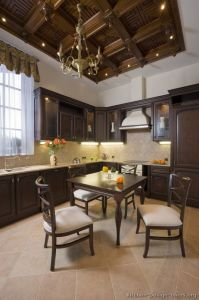 Dark Walnut Kitchen Cabinets (dw68) pictures & photos