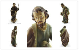 Customized Resin Joseph Jesus Mary Church Statue pictures & photos