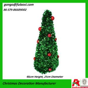 Metallic Garland Tree for Christmas
