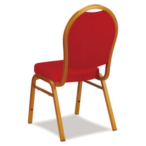 Stacking Back Design Metal Hotel Banquet Dining Chair pictures & photos
