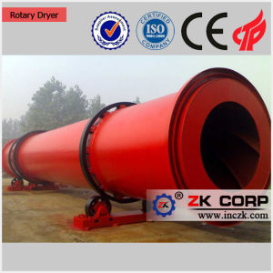 China Silica Sand Rotary Dryer Factory pictures & photos