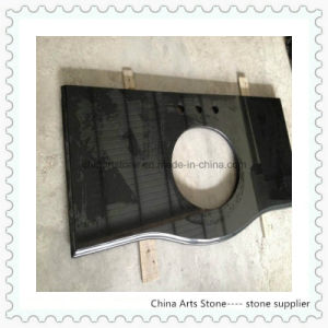 Chinese Shanxi Black Absolute Black Granite Vanity Top and Countertop pictures & photos