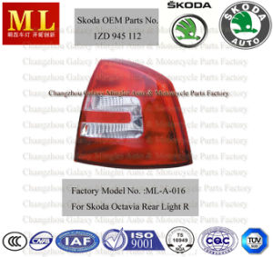 Popular Auto Rear Lamp for Skoda Octavia Car From 2004--2ND Generation (OEM parts No.: 1ZD 945 112) pictures & photos