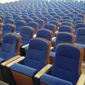 Auditorium Sport Chair, Auditorium Seat, Conference Hall Chairs, Push Back Auditorium Chair, Plastic Auditorium Seat, Auditorium Seating (R-6164) pictures & photos