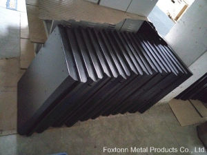 OEM Sheet Metal Fabrication with Black Powder Coating pictures & photos