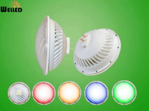 RGB Remote Control 2.4G LED PAR56 Pool Lamp with 36W 12V G53 Gx16D