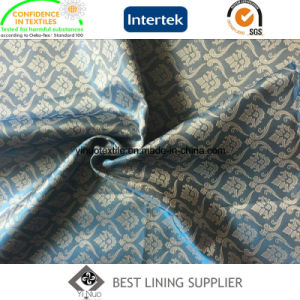 55% Polyester 45% Viscose Men′s Suit Jacquard Lining Fabric pictures & photos