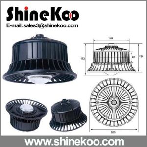 Aluminium Round 50W Mini LED Garden Street Lamps pictures & photos