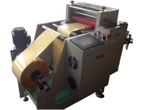 Nickel Foil Label Roll to Pieces Cutting Machine pictures & photos