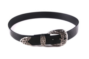Ladies Fashion Belt Waistband PU Belt with Hardware Accessories pictures & photos