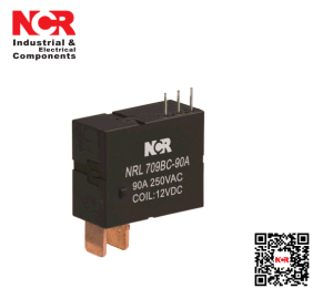 9V 90A Switching Capability Magnetic Latching Relay (NRL709BC-90A) pictures & photos