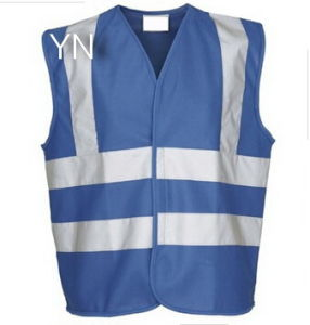 Roadwork Safety Vests Reflective Blue Mesh Clothing Stock Customize Logo pictures & photos