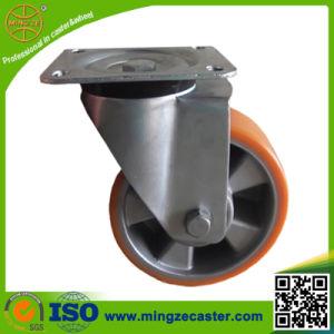 Aluminium Core PU Trolley Caster pictures & photos