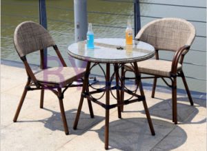 Starbucks Aluminum Frame PVC Cloth Table and Chair Furniture pictures & photos