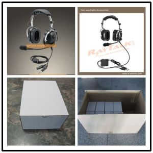 Wired Communication and Noise Cancelling Function Anr Aviation Headset pictures & photos
