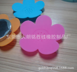 FDA Food Grade Hot Flower Shaped Soap Mat pictures & photos