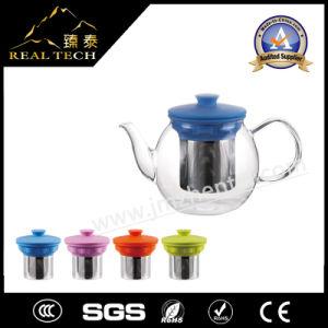 Hot Sale Clear Borosilicate Glass Teapot Sets pictures & photos