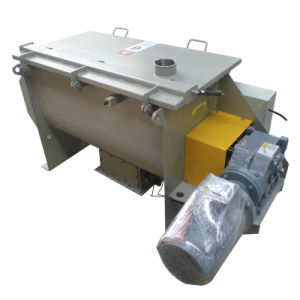 Horizontal Powder with Liquid Ribbon Blender Mixer pictures & photos