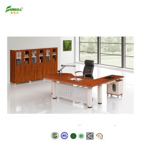 MFC High End Office Table with Metal Frame pictures & photos