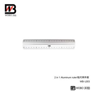 2016 Office Stationery Aluminum Ruler Set pictures & photos