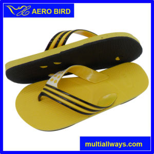 Simple Style PE Fashion Slippers with Special Strap (T1630) pictures & photos