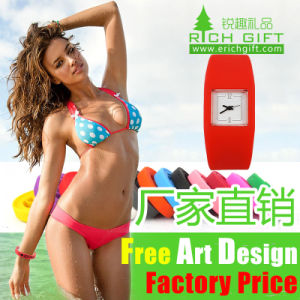 Factory Wholesale High Quality Personalized Flag Printed Silicone Bracelet pictures & photos