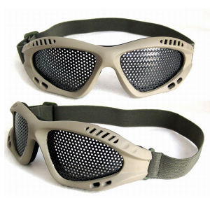 Airsoft Metal Mesh Protection Goggle pictures & photos