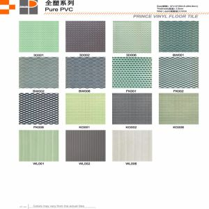 PVC Tile / PVC Mabos/ PVC Loose Lay/ PVC Self Laying Floor pictures & photos