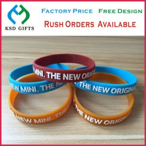 Custom Soccer Silicone/Silicon Wristband Wholesale (KSD-872) pictures & photos