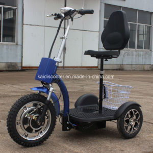 Adult 500W Foldable Three Wheels Electric Mobility Scooter with Ce pictures & photos