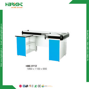 Super Market Check out Counters with Conveyor Belt pictures & photos
