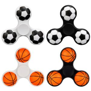 Funny Basketball Hand Spinner High Speed Bearing Toys Anxiety Stress Adults Kid Metal Finger Spinners ABS pictures & photos