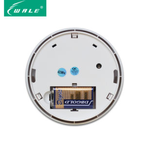 Independent Wireless Smoke Detector for Home Alarm System pictures & photos