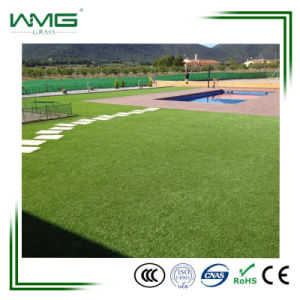 High Density Latest Lanscape Artificial Lawn Garden Plastic Green Grass pictures & photos