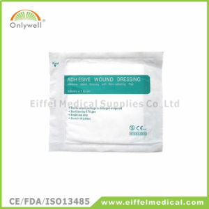 Disposable Medical Sterile First Aid Adhesive Wound Dressing pictures & photos