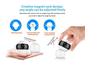 HD WiFi Wireless Webcam Mini Snowman IP Camera Home Security Infant Pet Monitor Video Recorder Cam pictures & photos