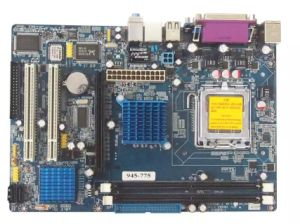 945-775 Motherboard for PC with 2*DDR2 533/667/800 Memory pictures & photos