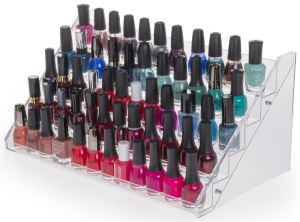 Nail Polish Stand Accommodates Approximately (60) Bottles pictures & photos