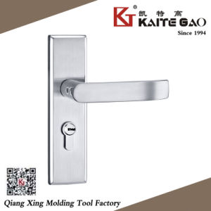 304 Stainless Steel Hollow Door Handle on Plate (KTG-5002-012) pictures & photos
