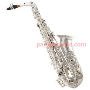 Pango Music Silver Plate Eb Alto Saxophone (PMAS-220) pictures & photos