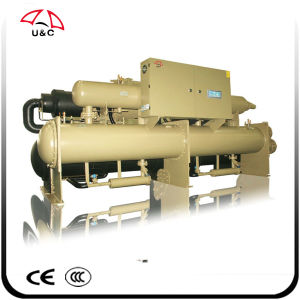 Water Cooled Screw Water Chiller with Two Compressors pictures & photos