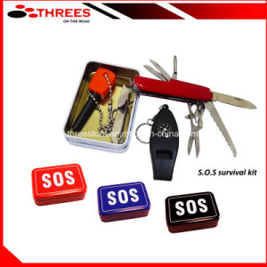 S. O. S Camping Survival Kit (SK16012) pictures & photos