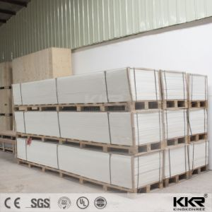 Kkr Wholesale 6mm Glacier White Solid Surface pictures & photos