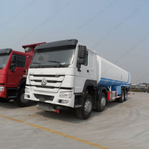 HOWO 25m3 Capacity Fuel/Oil Transport Tank/Tanker Truck pictures & photos