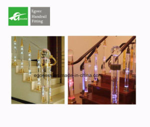 Chiness Supplier Manufacturer SUS 201/304/316 Crystal Baluster for Balcony Railing pictures & photos